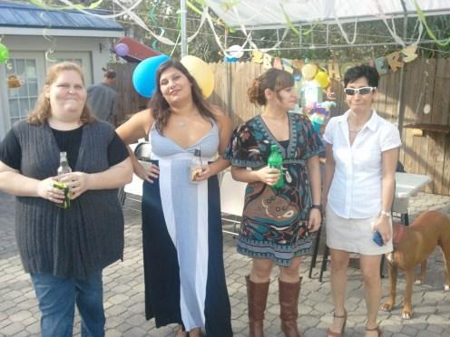 Amanda, Andrea, Tina, Marisol