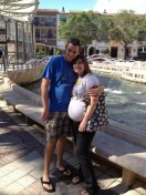 Tina and I at Cityplace
