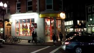 Curious George store in Cambridge