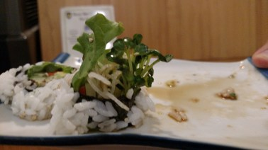 Sprouted sushi