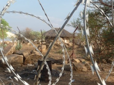 The village through the razor wire (1)
