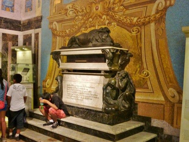Lima Pizzaro's tomb