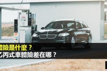 車體險推薦買法:你得先懂甲乙丙式車體險差在哪?