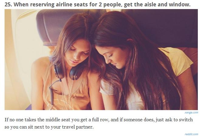 Tip - Booking Seats