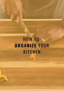 Eat Better on a Budget- Organize kitchen cover image