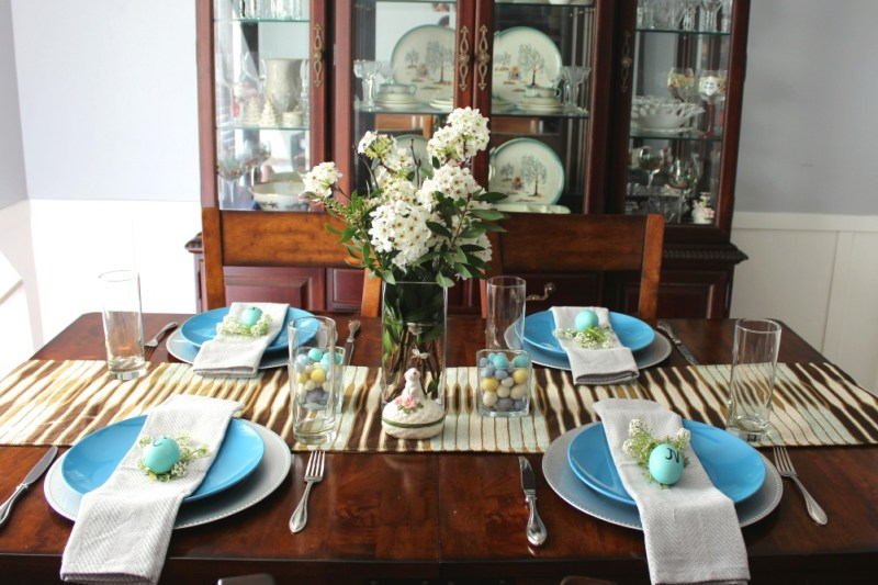 Easter Tablescape 1