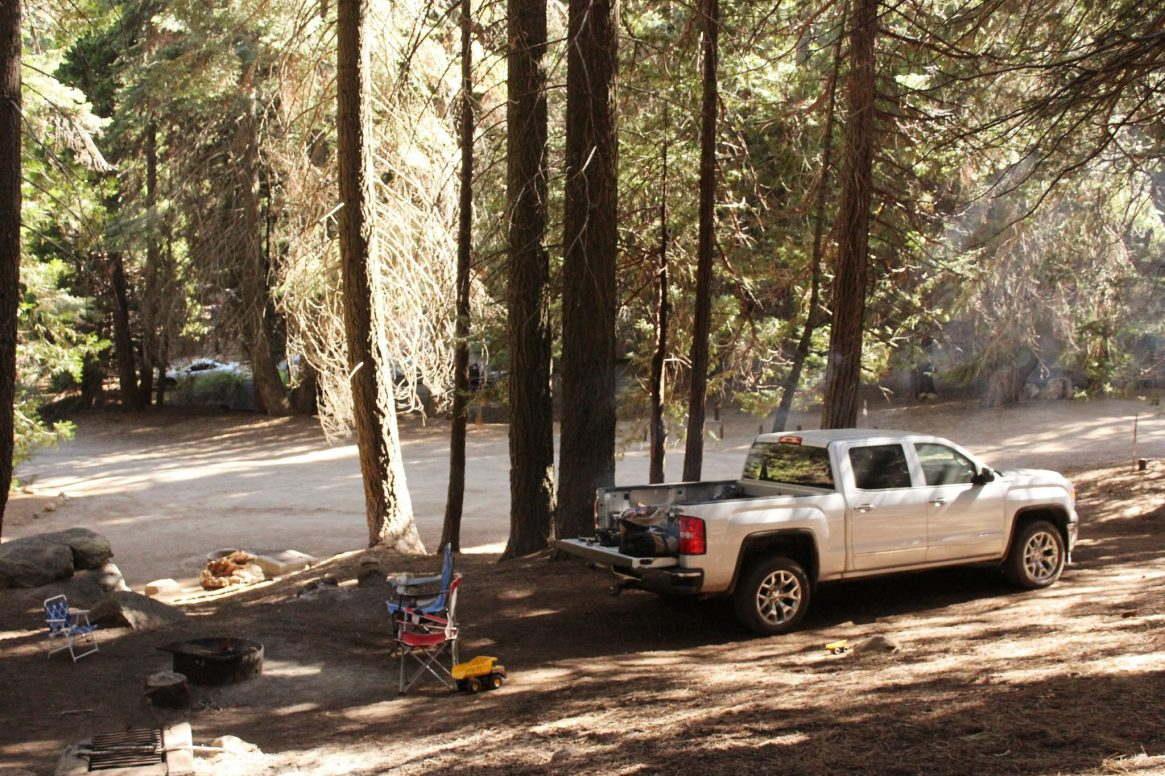Camping at Holey Meadow Campground 2