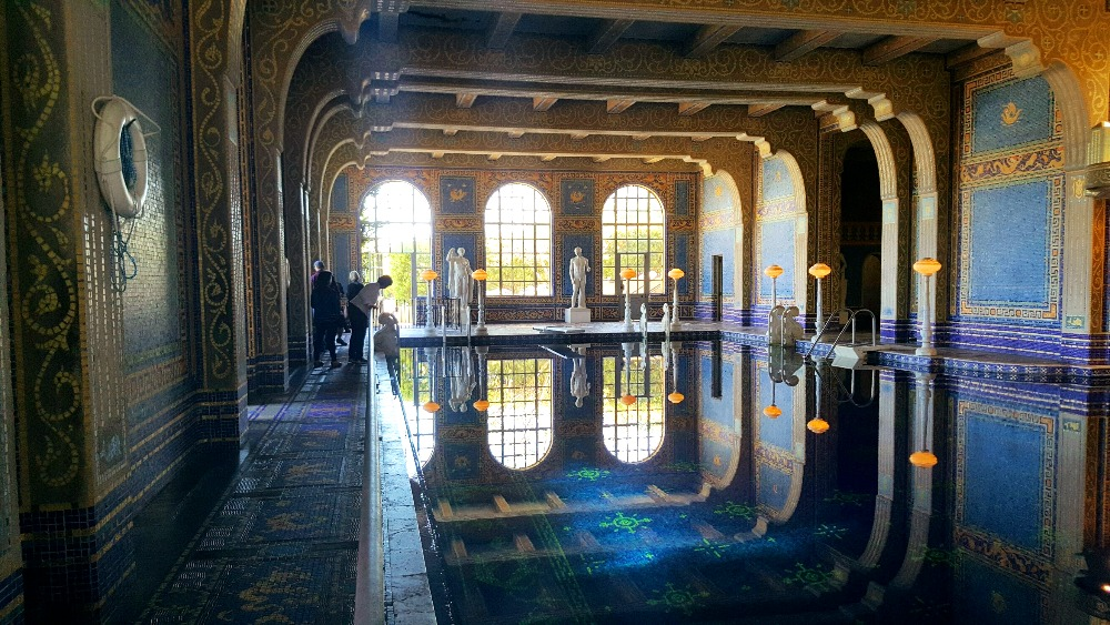 HEARST CASTLE CALIFORNIA