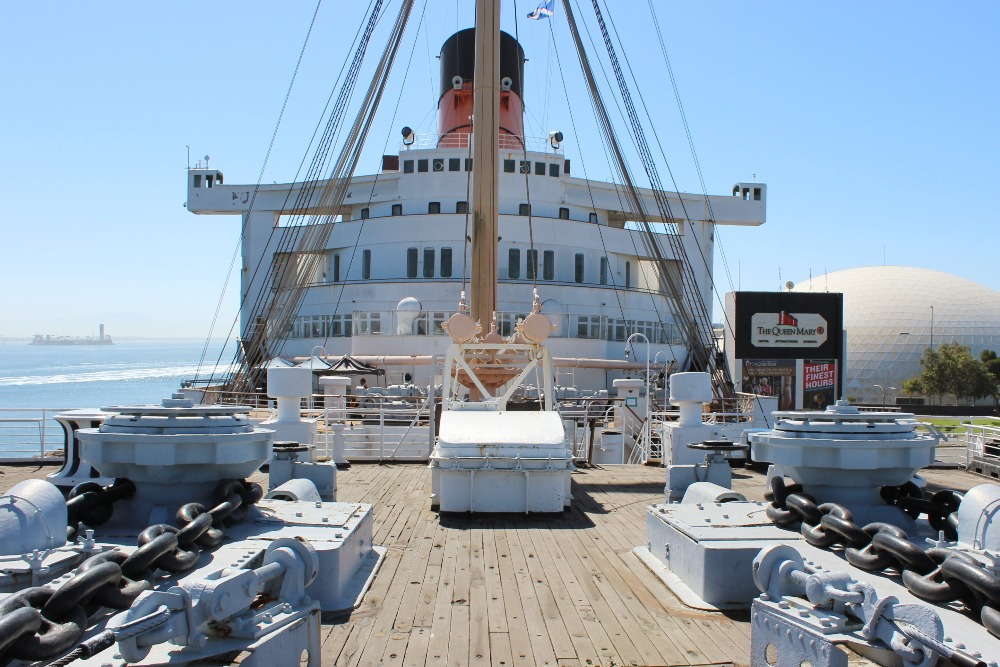 STAYING AT THE QUEEN MARY 11