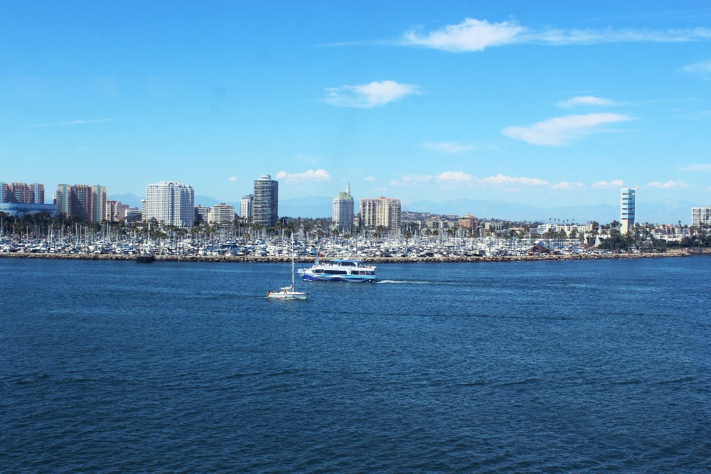 STAYING AT THE QUEEN MARY LONG BEACH MARINA VIEW