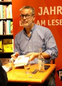Richard C. Schneider, Lesung in der Buchhandlung Graff, Braunschweig, Juni 2018