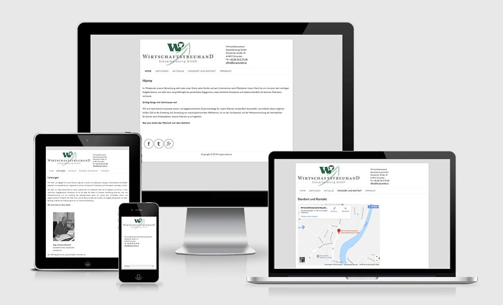 Wirtschaftstreuhand Steuerberatung GmbH   WordPress-Seite