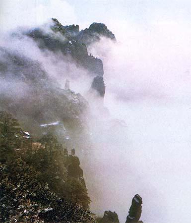 Photo d'un paysage Chinois. DR.
