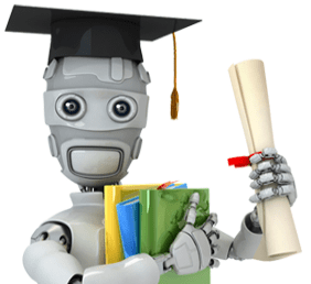 """The """"mascot"""" for the Machine Learning course."""