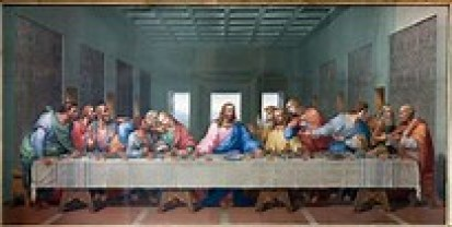 The first Lord's Supper