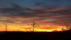 A Cezanne sunset