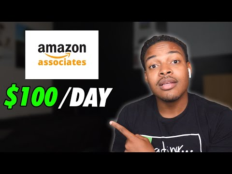 How to Set Up Amazon Affiliate Marketing | $100 per day