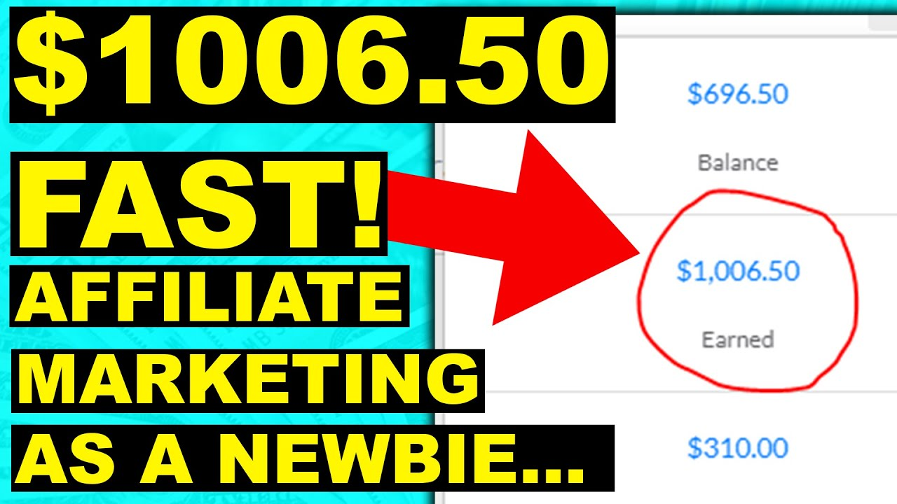 How To Get Started Affiliate Marketing For Beginners ($1k+ FAST!) STEP BY STEP TUTORIAL!