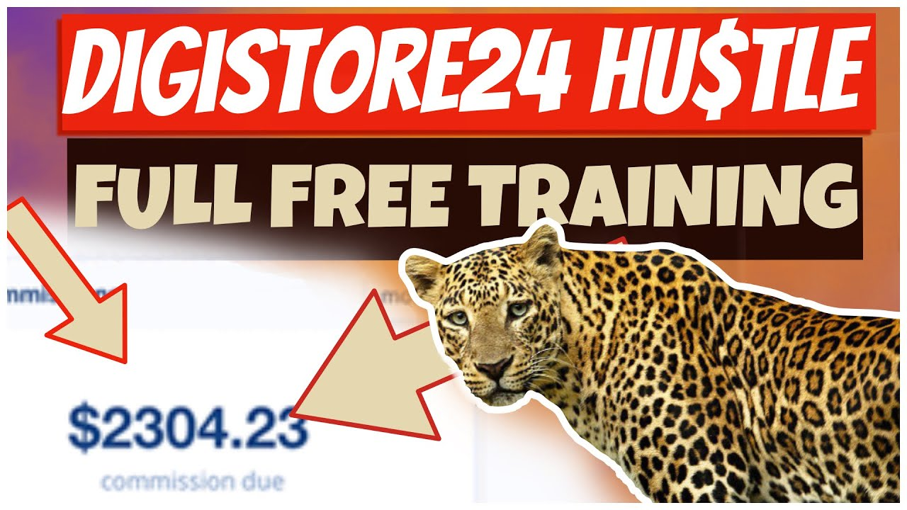 $200-$2000/Week with DIGISTORE24 Affiliate Marketing FREE Traffic (FULL FREE COURSE FOR BEGINNERS)