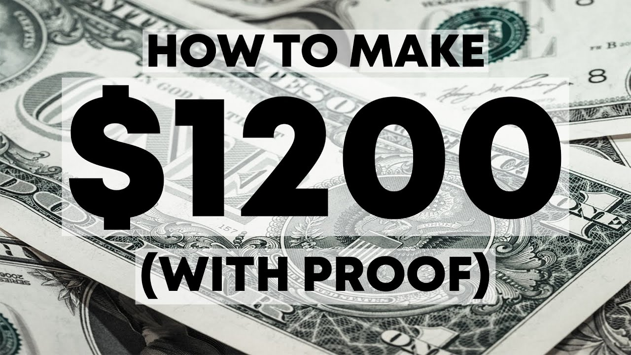 affiliate marketing step by step guide to your first $1200 (WITH PROOF)