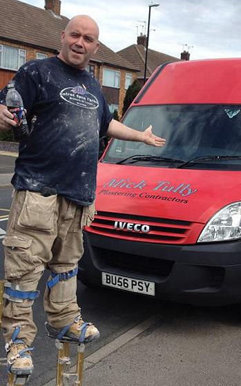 Mick Tully In Work Attire