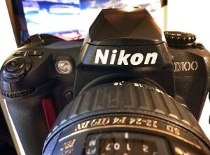 One of my Nikon D100s; this camera is an excellent tool for  imaging, and presently very affordable