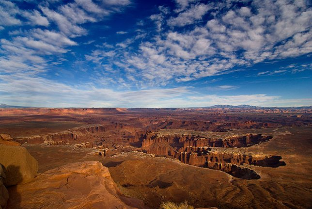 Grand View Point, Island in the Sky District, Canyonlands National Park, Utah, April 2011; I shoot a lot of images here, and this place never fails to amaze me with its beauty. This image, though, didn't have what it takes to move into the top five.