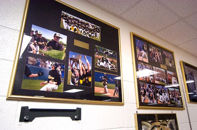 Citizens Bank of Ada mounted and framed these and other images of Roff's recent state championships. Not only are they my images, I felt like I shot really well at those events.