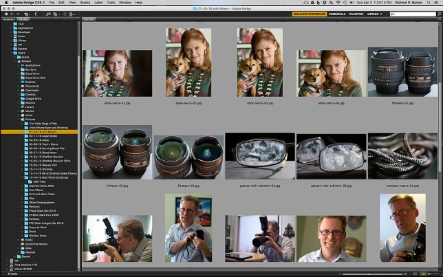 Everyone has a different editing style. Some need to see prints in their hands, other prefer slide shows. I have made my editing home the on-screen browser page, analogous to the contact sheet of the film days.