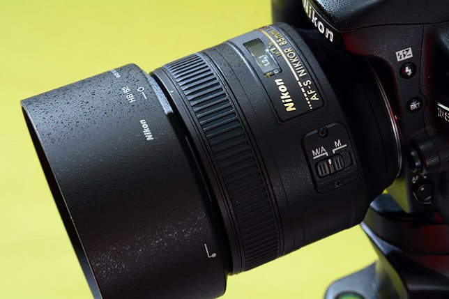 This is the lens we are test driving today: our new AF-S Nikkor 85mm f/1.8G.
