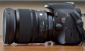 """I was delighted that one of my students was able to purchase a new Sigma 24-105mm f/4 lens, one of Sigma's new """"Art"""" series."""