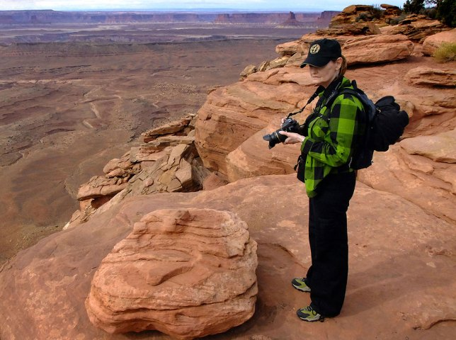 I was able to introduce my wife Abby to Canyonlands in 2010, in the Island in the Sky District.