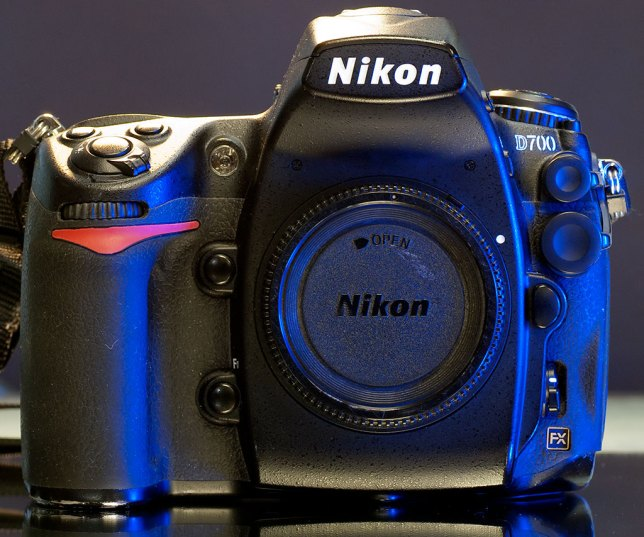 I recently sold some older gear to get ahold of this Nikon D700. With 94,325 frames through it when I bought it, it is about halfway through it's life expectancy. The D700 is larger and heavier than most of my other cameras, and it is a luxury to look through a film-sized viewfinder.