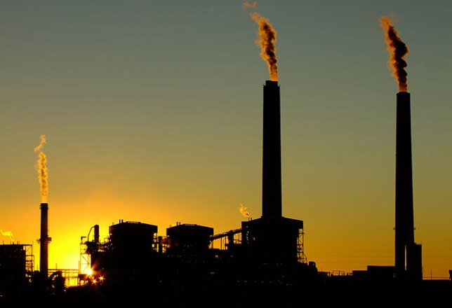 Another one of my favorite images is this eastern Arizona power plant at sunset, make with the S200EXR in October 2011.