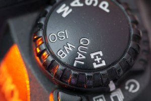 The exposure mode dial on the D100 was one it's worst features.