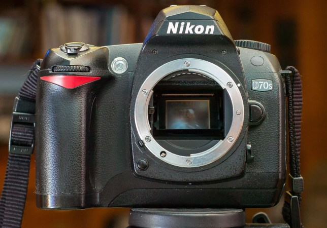 Despite a fair amount of dust and sticky leatherette panels, our Nikon D70S still works fine.