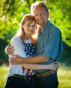 For this portrait of my wife Abby and me, I handed fellow photographer Robert my Nikon D700 with my 1990's-era 180mm f/2.8 lens on it. If you have the room to work, a longer portrait lens can be an excellent tool in the tool box.