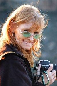 Abby at Mesa Verde National Park, October 2005