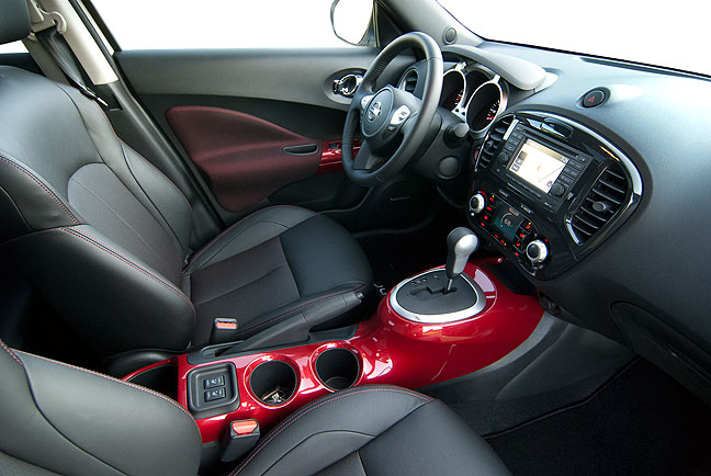 Abby and I were drawn to the Nissan Juke for a lot of
