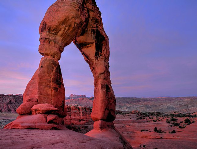 I've been to Utah's Delicate Arch many times and in many conditions, but this time, before sunrise, might have been the best.