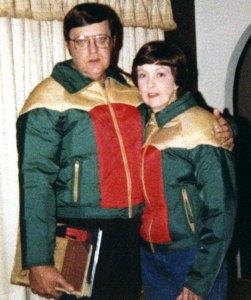 Joe and Sarah Jo bought matching ski jackets. Why?