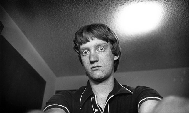 """I wouldn't qualify myself as a pioneer or visionary, but this is a 1979 version of a """"selfie."""""""
