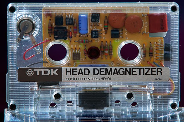 This is an audio tape deck head demagnetizer. I feel strongly that it is an answer without a question.