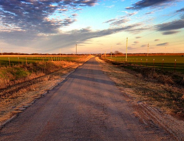 """It's hard to imagine a place more """"country"""" than Ryan, Oklahoma."""