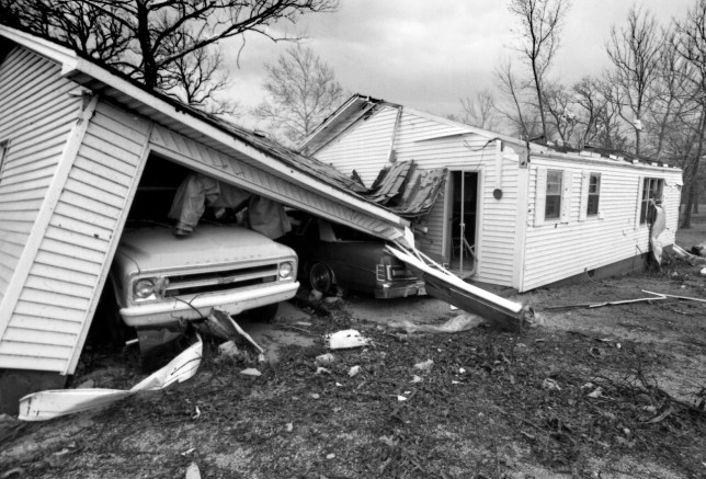 There are few things as archetypically Oklahoman as small-town tornado damage, and this, from Pickett, Oklahoma, was part of a very memorable day in my life as a photojournalist.