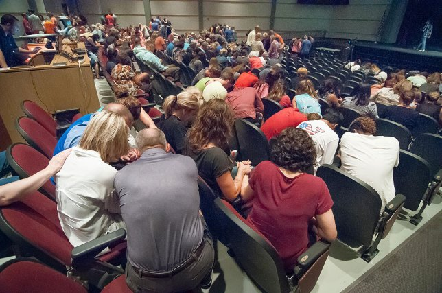Although I don't pray or believe in a deity, I appreciate the comfort prayer gave these members of my community Tuesday night as they gathered for vigil for two Ada teenagers injured in an accident Monday.