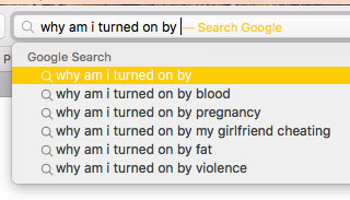 Google, how come you know so much about the nature of humanity?
