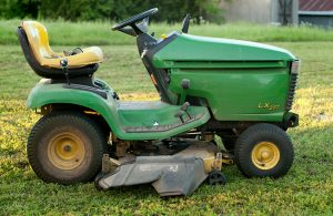 """Casual readers might not know that my riding mower is named """"Wildfire."""""""