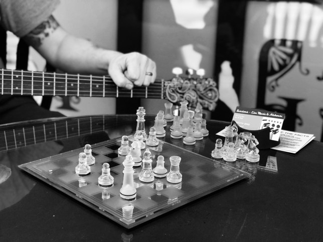 Chess and music are two activities I consider very creative.