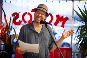 Sterling Jacobs organized Open Mic Nyte for the last couple of years. When he read something, anything could happen.